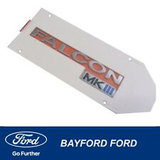 Wagon Tailgate Badge Nameplate Decal Ford BF Falcon 2000 on