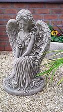 beautiful large angel,concrete,grave ornament,memorial