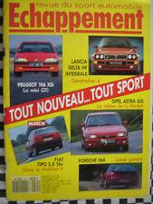ECHAPPEMENT 1991 16 SOUPAPES ALFA 33 + RENAULT 19 + FIAT TIPO + PEUGEOT 309 GTI