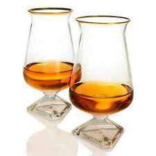 Irish Whiskey Glass - Tuath Whiskey Glasses - Whiskey Glass Set of 2 - GOLD