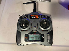 Spektrum DX6i DSMX transmitter - 6 Channel - RC Control with Case And Lanyard