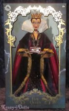 Disney Designer Snow White Movie Limited Edition Evil Queen Doll New!