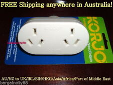 AU UK Travel Electrical Adaptors