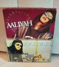 Aaliyah Cassette 1 SINGLE 1 ALBUM - Back & Forth,  Age Aint Nothing But a Number