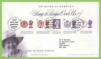 G.B. 2015 Long to Reign M/S on Royal Mail First Day Cover, Windsor