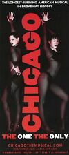 Chicago - Broadway theater promo ad / flyer NYC New York 2014