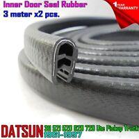For Datsun 311 521 520 620 720 Ute Pickup Truck Inner Welt Door Seal Rubber 2X
