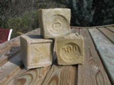 Lot 4 Savons de Marseille Cube 300Gr 72% Olive authentique LE SERAIL
