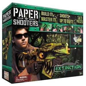 MFH PAPER SHOOTERS Bausatz Guardian Extinction Spielzeug-Gewehr Papierkugeln