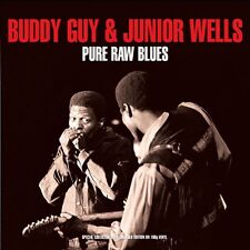 Buddy Guy & Junior Wells PURE RAW BLUES 180g GATEFOLD Best Of NEW VINYL 2 LP