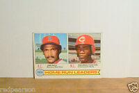 RICE RED SOX FOSTER REDS 3 RBI LEADERS 1979 TOPPS BASEBALL SET BREAK