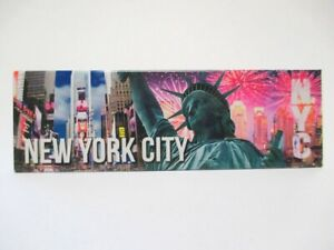 New York Photo Magnet times Square Statue of Liberty New (8311)