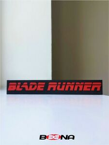 Decorative BLADE RUNNER movie self standing logo display