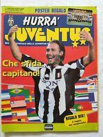 HURRA' JUVENTUS N. 9 SETTEMBRE 1997 + FASCICOLO + POSTER SQUADRA PERUZZI PLATINI