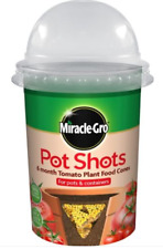 MIRACLE-GRO 24 CONE'S POT SHOTS 160G, 6 MONTHS TOMATO PLANT FOOD CONES