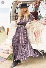 Spell & Gypsy Collective Boho Gypsiana Maxi Skirt S
