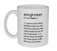Engineer Definition Funny Coffee Or Tea Mug - Coffee Mug - White Coffee Mug