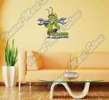 "Centipede Caterpillar Construction Gift Wall Sticker Room Interior Decor 20""X25"""