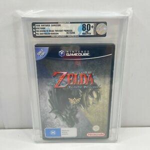 VGA GRADED 80+ NM Legend of Zelda Twilight Princess Nintendo Gamecube Game AUS