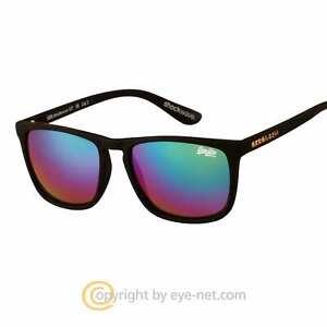 Superdry Shockwave Kunststoff Sonnenbrille SDS 127 Neu Unisex