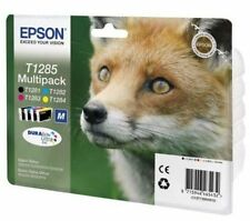 Epson T1285 Fox Genuine Multipack Ink Cartridges T1281 SX125 SX130 SX425W BX305F