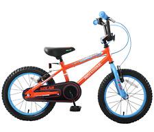"Professional Solar 16"" Wheel Boys Kids Bike BMX Single Speed Red Blue Age 5+"