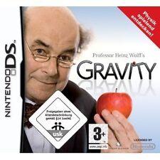 Nintendo DS NDS Lite DSI XL juego el profesor Heinz Wolff 's Gravity juego de física