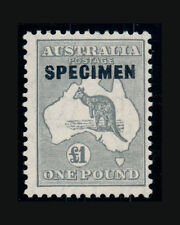 Vintage: Australia 1924 Og Nh Scott # 128 Specimen- $2500 Reg Lot #2269E