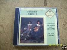 SIBELIUS-BRUCH Concerto for violin and orchestra (CD)