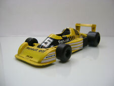 Diecast Polistil Renault R.S.0.1. Formula 1 1:32 in Yellow Good Condition