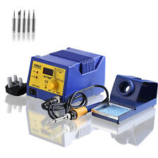 YiHua Soldering Iron Station 75W Weld 6 Tips Iron Stand Kit with Digital Display