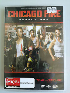 Chicago Fire Season 1 MA15+ dvd 6 disc set 24 EPISODES