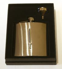 Sword Stainless Steel Hip Flask Medieval Combat Gift Free Engraving