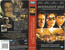 MOONLIGHT MILE - VOGLIA DI RICOMINCIARE (2002) vhs ex noleggio