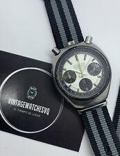 Vintage Watch Citizen 8110 bullhead Panda Very Rare No Seiko No Rolex No Omega