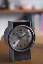Original Rhythm Alarm Clock, 70s Atomic Era, Made in Japan, 2 Jewels - WORKING.