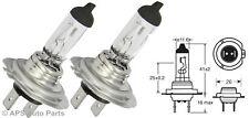 2 No H7 499 Halogen Headlight Car Bulbs 12v 55w PX26d High Quality Long Life