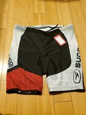 Sugoi Bike Cycling Mens TS Tri Short Black Red White NEW with Tags XXL