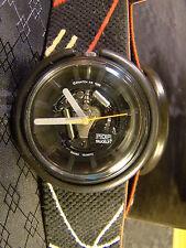 POP SWATCH BLACK SPIDER Black See Through Red White Retro Watch 1988 PWBB131