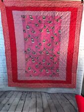Handmade Baby Quilt Jack In The Box Crib or Toddler Throw Blanket