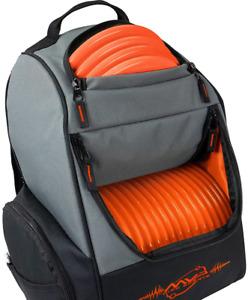 Disc Golf Backpack MVP Sports Shuttle Bag Holds 18-24 Discs Durable Lightweight
