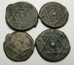 MOROCCO 2 Falus - 4 Coins. - 1154