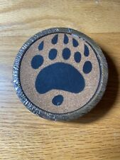 New listing Bear Paw Coasters 4 Pack
