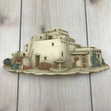 1993 Burwood Products Usa Made Plastic Wall Hang Shelf Southwest Pueblo