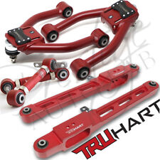 TRUHART ADJUSTABLE FRONT +REAR CAMBER +Lower Control Arm KIT for 97-01 HONDA CRV