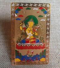 2pc Feng Shui Tibet Amulets Card for  Wisdom Progress in learning