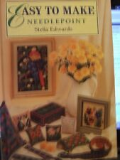 EASY TO MAKE NEEDLEPOINT STELLA EDWARDS BOOK