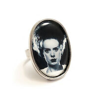 The Bride of Frankenstein ring silver adjustable UNIVERSAL STUDIOS goth monster