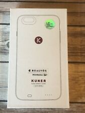 Kuner 16 GB Storage Case for iPhone 6 Plus / 6S Plus - White