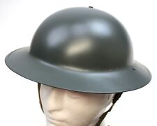 BRITISH ARMY WW2 STEEL BRODIE HELMET REPRODUCTION